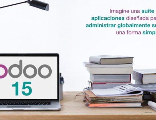 Nueva versión de Odoo V.15